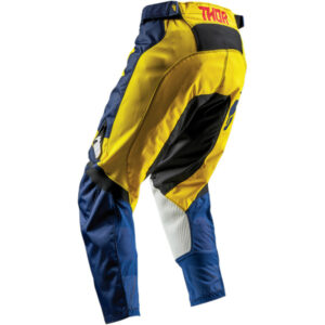 PULSE LEVEL NAVY YELLOW PANT 2