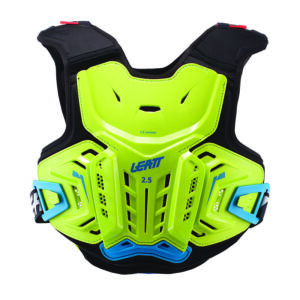 leatt 2.5 chest protector lime-blue