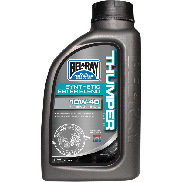 thumper-racing-synthetic-ester-blend-4t-engine-oil-10w40-1l-new
