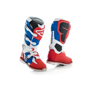 Acerbis XRock. RED BLUE
