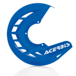 Acerbis x-brake front disk cover blue