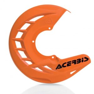 Acerbis x-brake front disk cover orange