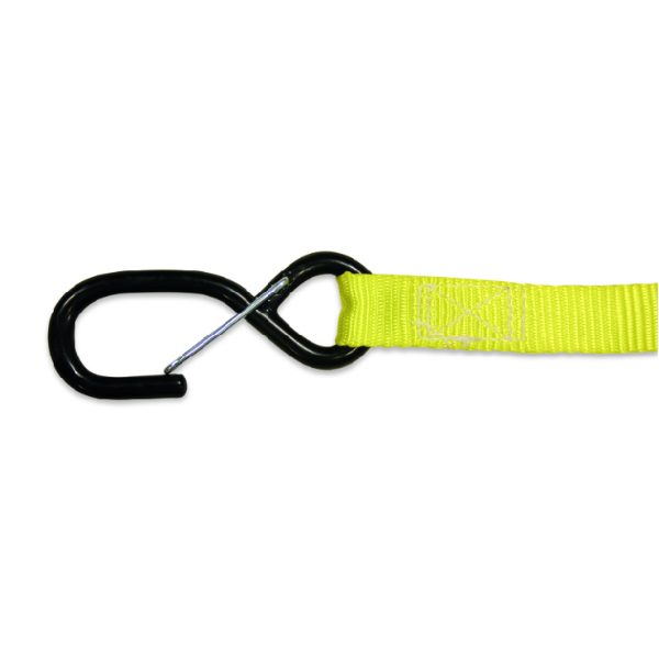 BIG TIE DOWNS 35MM YELLOW