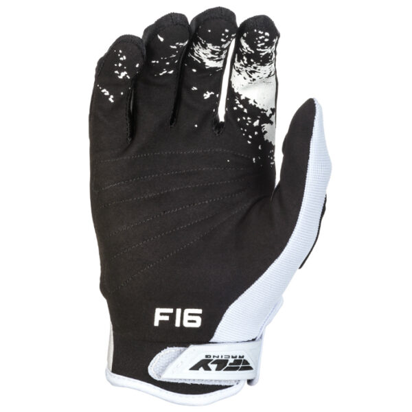 Fly glove black and white 2