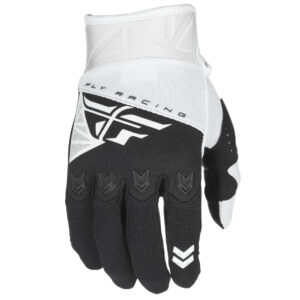 Fly glove black and white