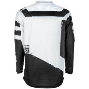 Fly jersey black white 2