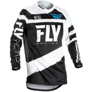 Fly jersey black white