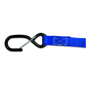 TIE DOWNS 25MM BLUE