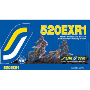 SUNSTAR OFF-ROAD DUAL GUARD CHAIN (EXR1) - 118 LINKS 520P
