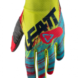 leatt gpx1.5 junior gloves red lime