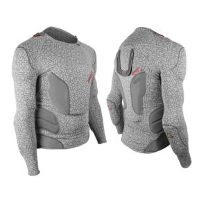 LEATT BODY PROTECTOR 3DF JR GREY