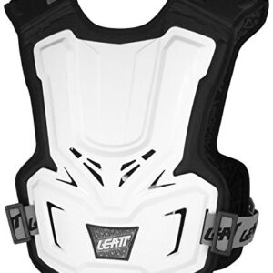 leatt chest protector adventure jr white 2