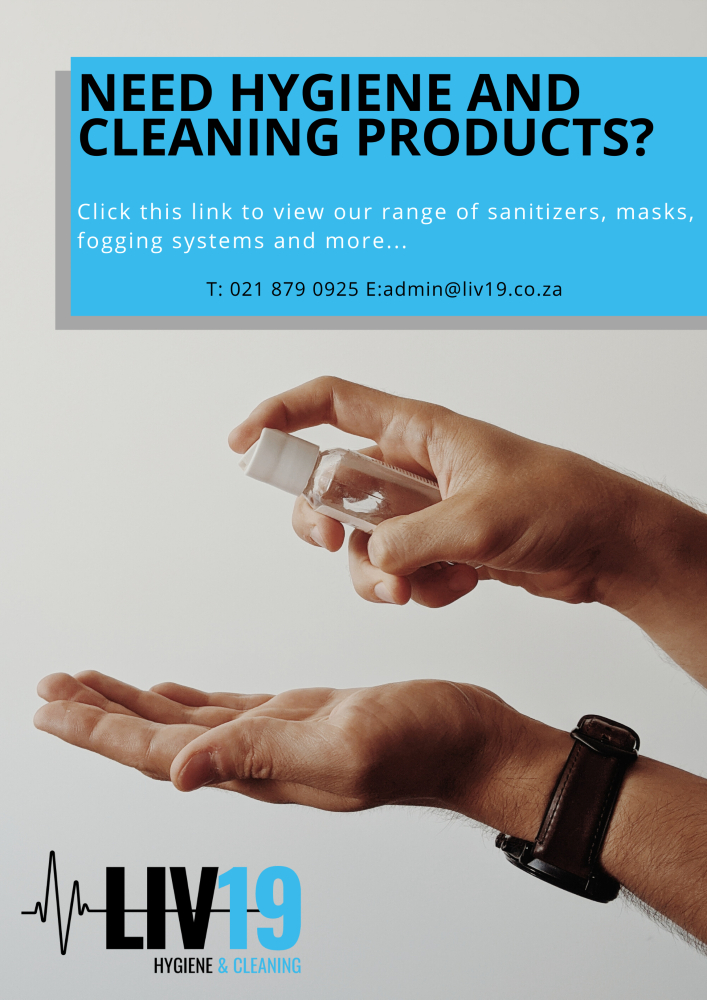 NEED HYGIENE AND CLEANING PRODUCTS_